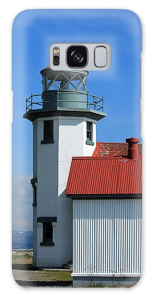 Point Robinson Light House Galaxy Case by E Faithe Lester