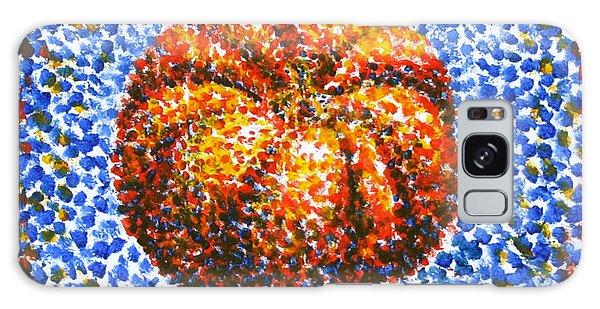 Pointillism Pumpkin Galaxy Case