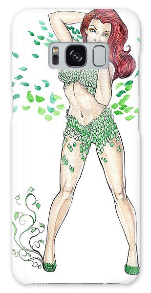 Poison Ivy Galaxy Case