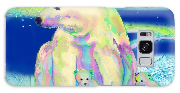 Polar Bear Aurora Galaxy Case