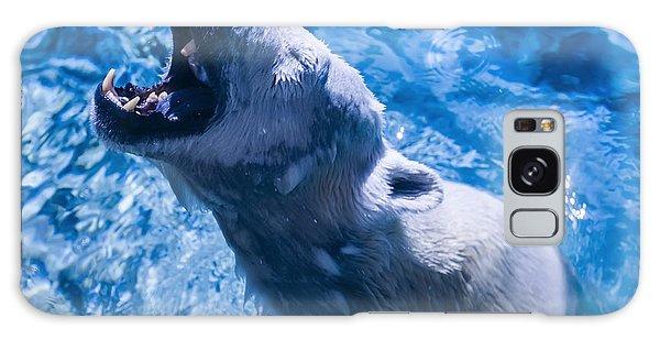 Polar Bear Galaxy Case by Chris Flees