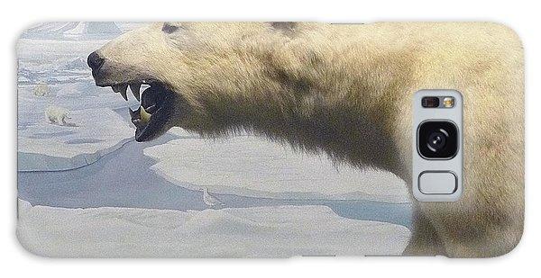 Polar Bear Diorama Galaxy Case