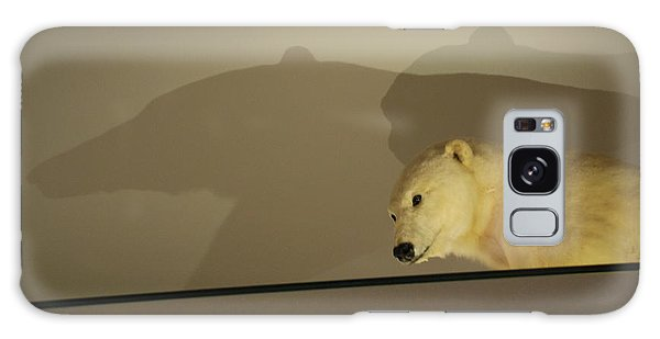 Polar Bear Shadows Galaxy Case