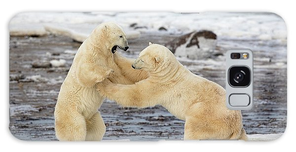 Powerful Galaxy Case - Polar Bears by Alessandro Catta
