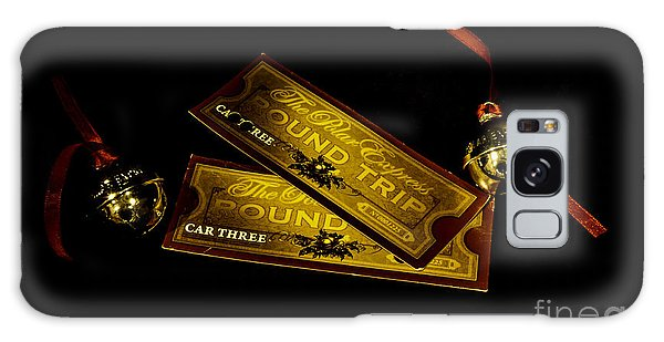 Polar Express Tickets Galaxy Case