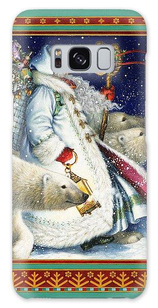 Santa Claus Galaxy Case - Polar Magic by Lynn Bywaters