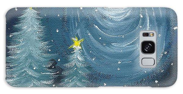 Polar Vortex 2014 Galaxy Case by Lynn Babineau