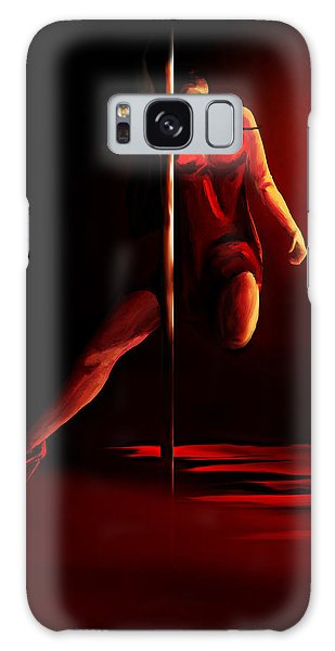 Pole Galaxy Case by Persephone Artworks