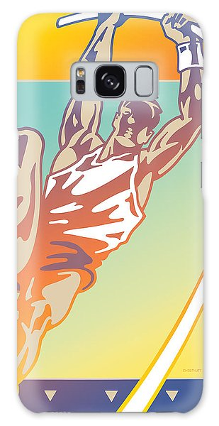 Pole Vault Galaxy Case