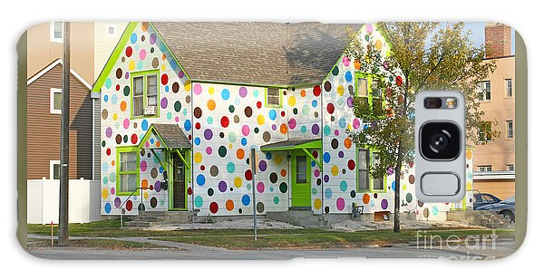 Polka Dot House Galaxy Case