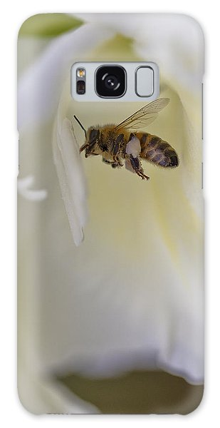 Pollen Carrier Bee Galaxy Case