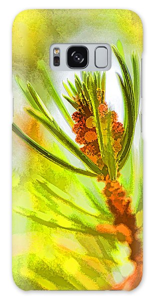 Pollen Cones Galaxy Case