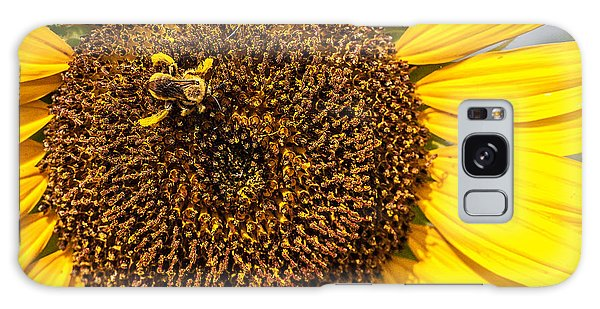 The Sunflower And The Bee Galaxy Case