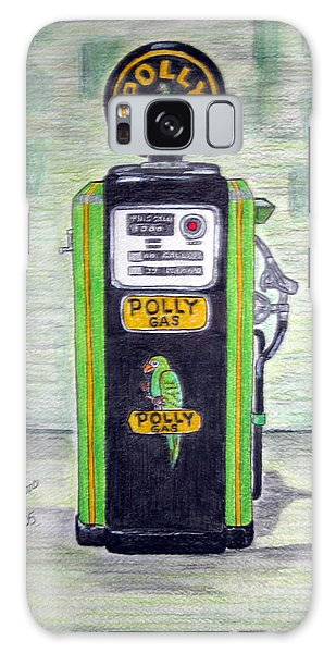 Polly Gas Pump Galaxy Case