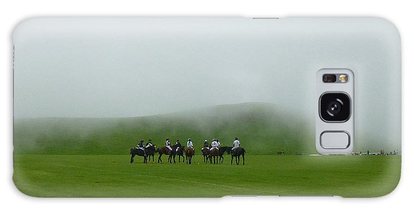 Polo In The Clouds Galaxy Case by Lori Seaman