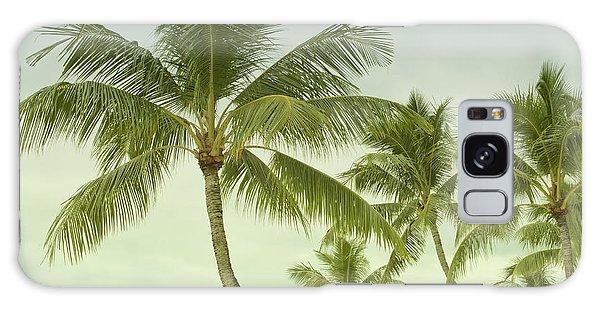 Polynesia Palm Trees Galaxy Case