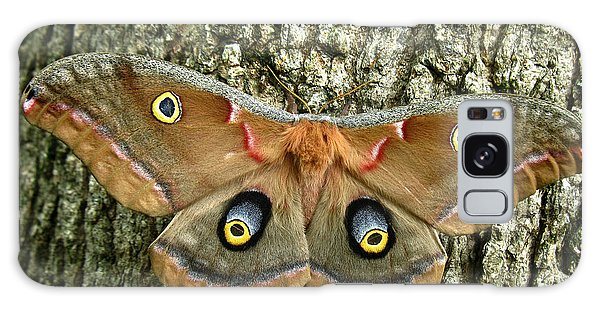 Polyphemus Moth Galaxy Case by William Tanneberger