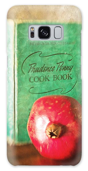 Pomegranate And Vintage Cook Book Still Life Galaxy Case