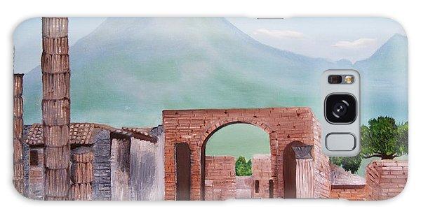 Pompeii And Vesuvius   Galaxy Case