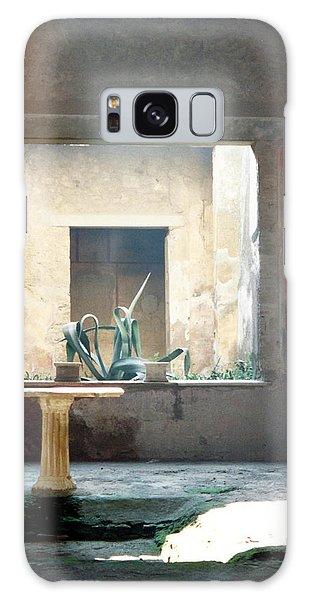 Pompeii Courtyard Galaxy Case by Marna Edwards Flavell