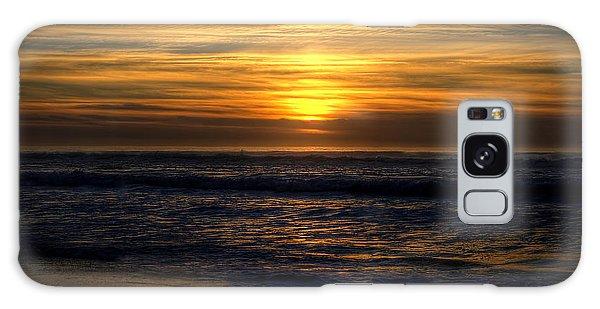 Pomponio Beach Galaxy Case