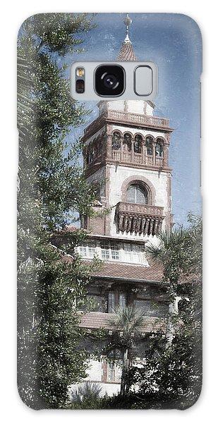 Flagler Galaxy Case - Ponce De Leon Hall by Joan Carroll