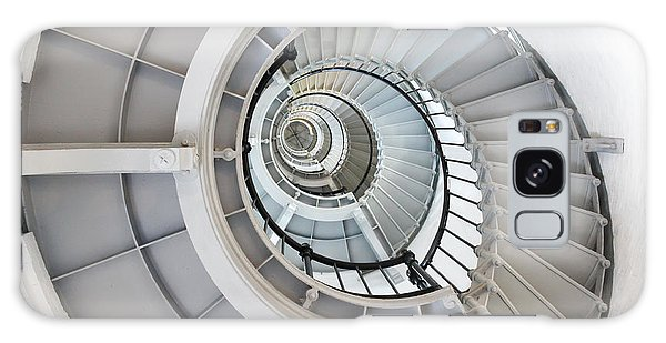 Ponce De Leon Inlet Lighthouse Staircase Galaxy Case