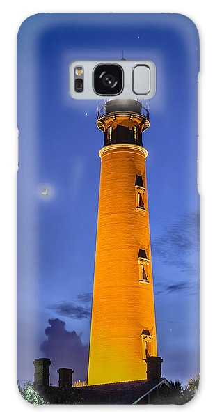 Ponce De Leon Lighthouse Galaxy Case by Alan Marlowe