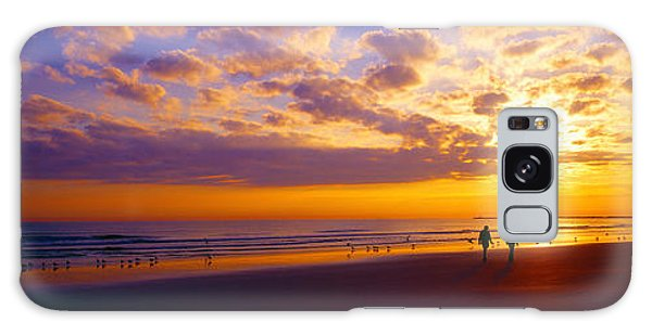 Ponce Inlet Fl Sunrise  Galaxy Case