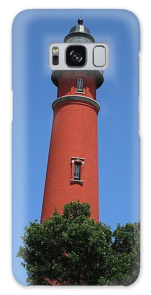 Ponce Inlet Lighthouse Florida Galaxy Case by Brian Johnson