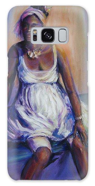 Pondering The Future Galaxy Case by Jodie Marie Anne Richardson Traugott          aka jm-ART