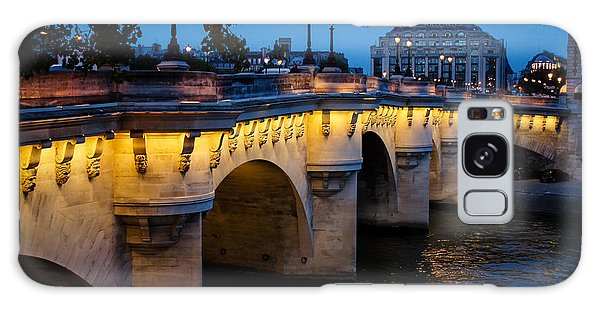 Pont Neuf Bridge - Paris France Galaxy Case