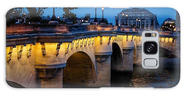 Pont Neuf Bridge - Paris France Galaxy Case