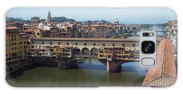Ponte Vecchio Galaxy Case by David Nichols
