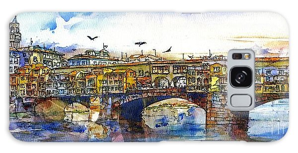 Ponte Vecchio Galaxy Case by Randy Sprout