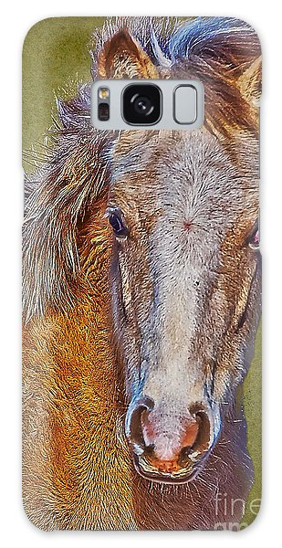 Pony Portrait  Galaxy Case