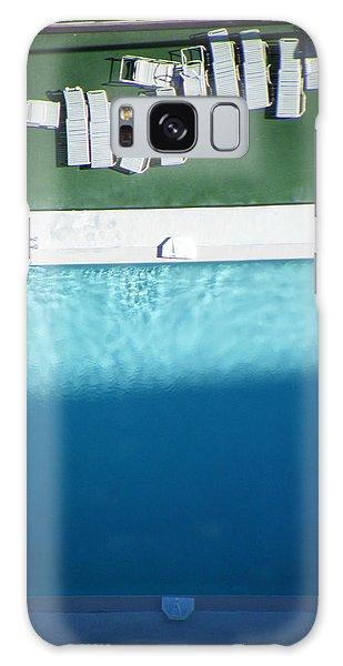 Poolside Upside Galaxy Case by Brian Boyle