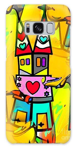 Pop-art Dom By Nico Bielow Galaxy Case by Nico Bielow