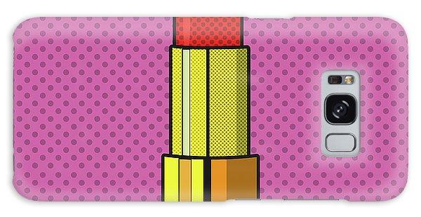 Pop Art Lipstick Design Galaxy Case