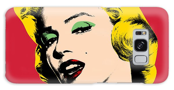 Galaxy Case - Pop Art by Mark Ashkenazi