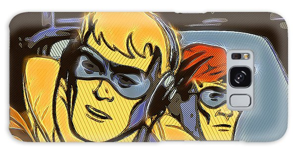 Pop Art Pilots Galaxy Case