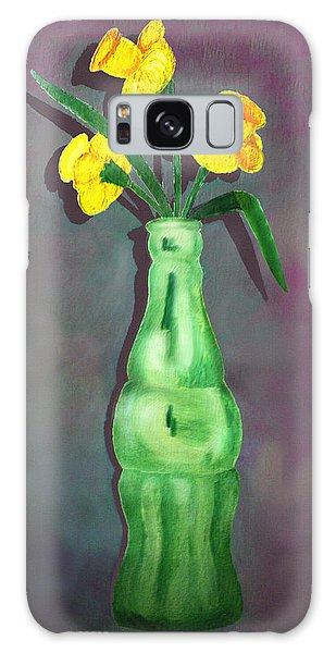 Pop Bottle Daffodil Galaxy Case