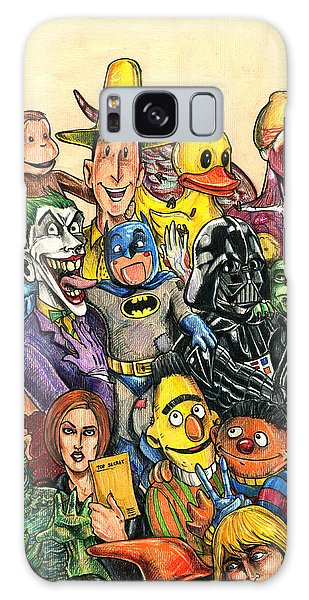 Pop Culture Ventriloquist Mashup Galaxy Case