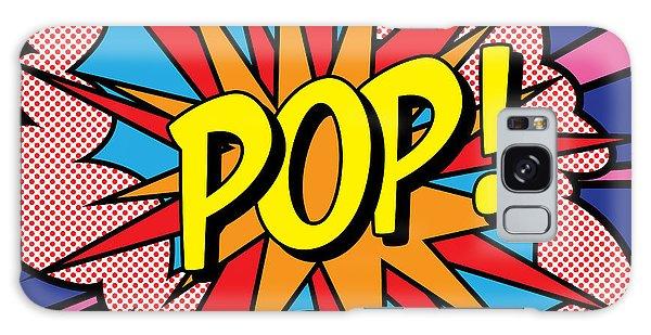 Pop Exclamation Galaxy Case