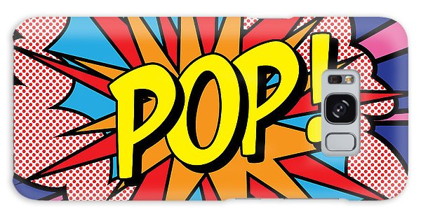 Galaxy Case - Pop Exclamation by Gary Grayson
