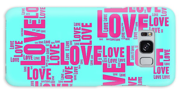 Sixties Galaxy Case - Pop Love 1 by Delphimages Photo Creations