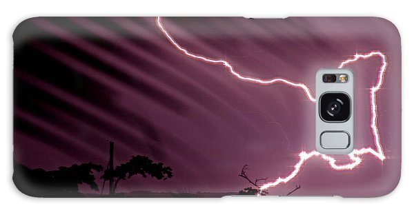 Popa Island Lightning Galaxy Case