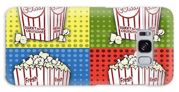Popcorn Pop Art-jp2375 Galaxy Case