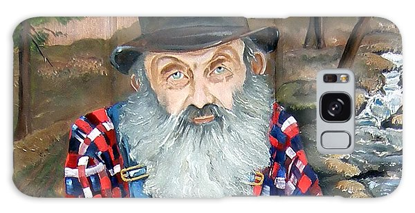 Popcorn Sutton - Moonshine Legend - Landscape View Galaxy Case