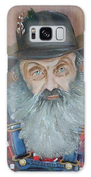 Popcorn Sutton - Moonshiner - Portrait Galaxy Case